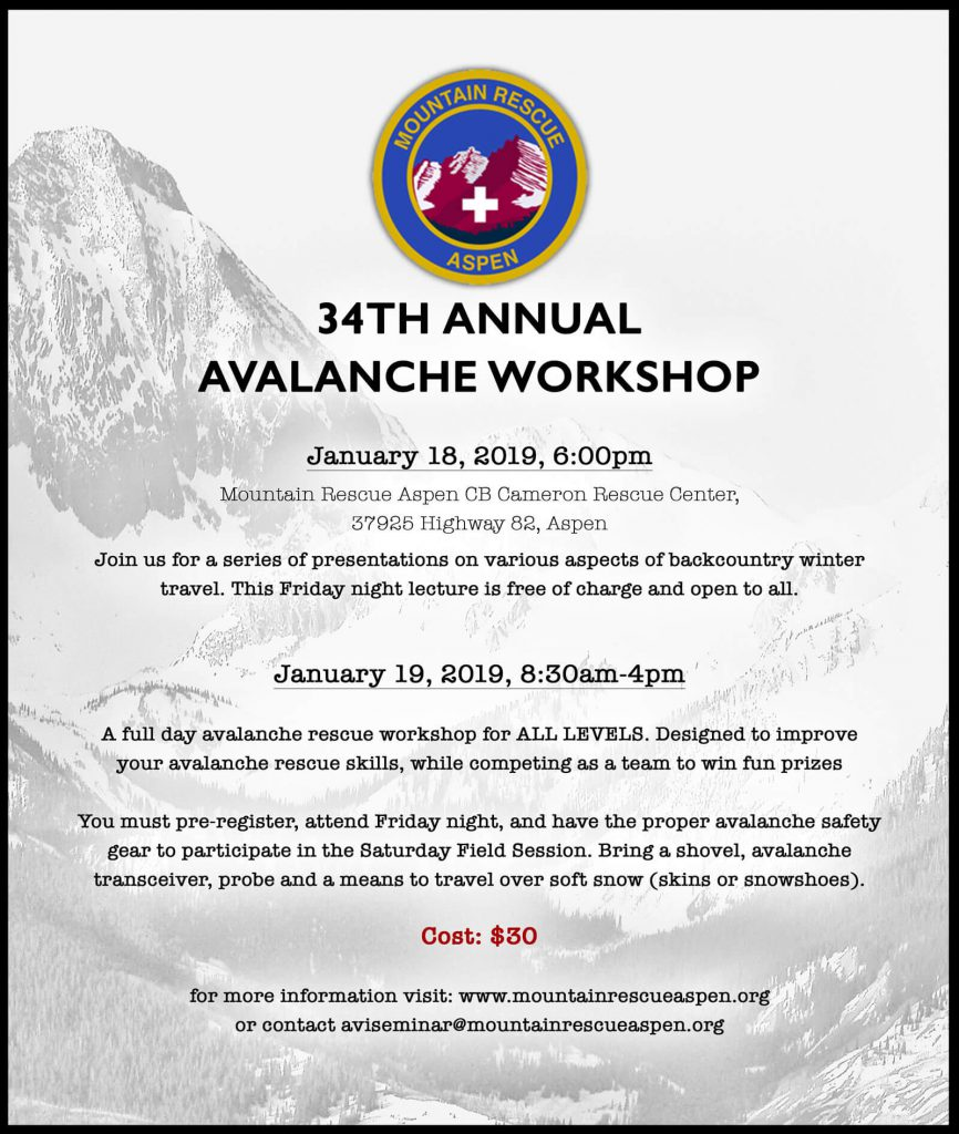 2019 Avalanche Workshop