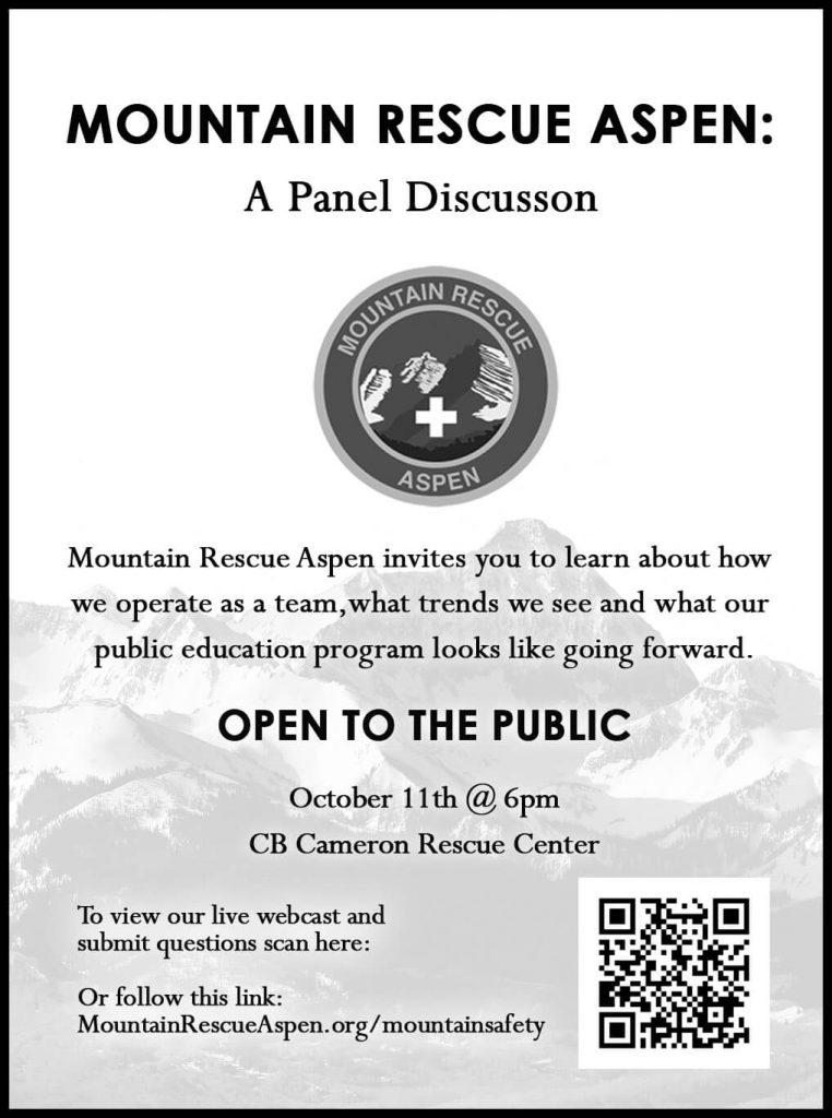 Mountain Rescue Aspen - Panel Discussion