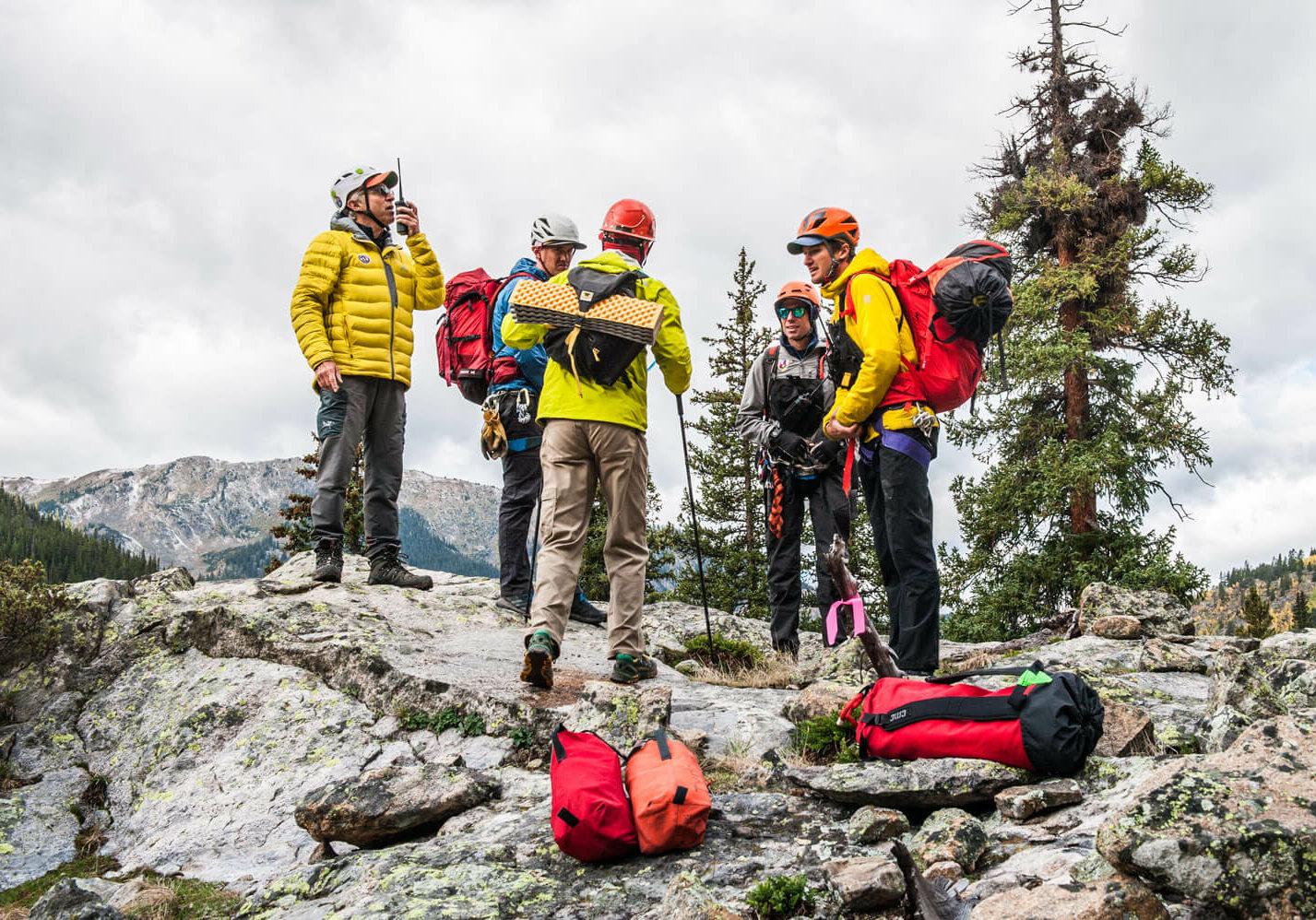 Mountain Rescue Aspen has 16 leaders