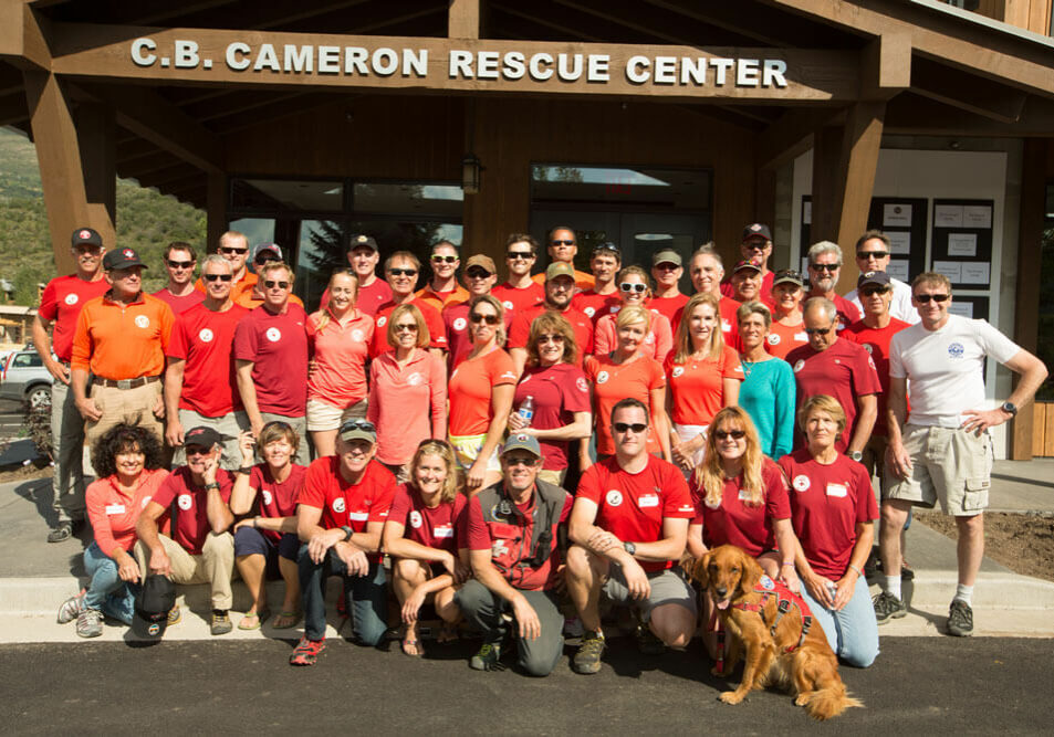 Moutain Rescue Aspen consistes of 50 team members